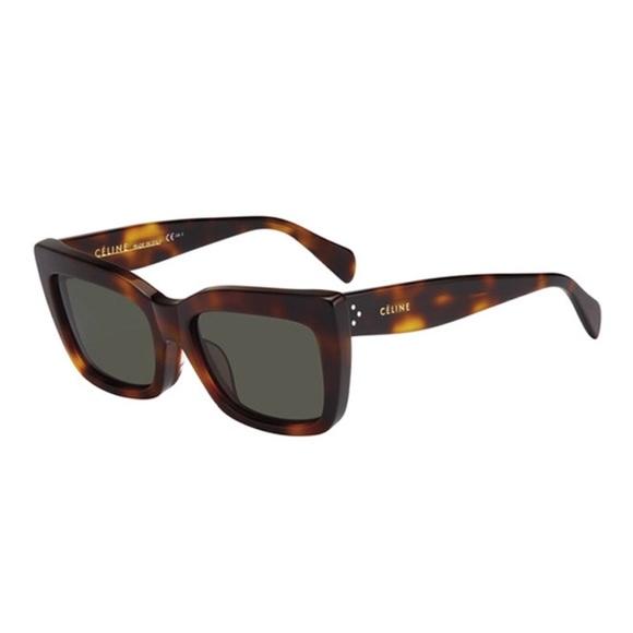 ba52bd8dd6de Celine Accessories - Céline tortoiseshell cat eye sunglasses with case
